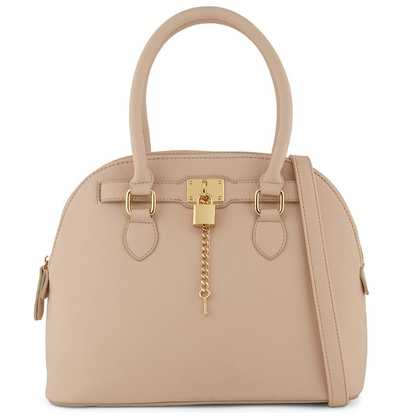 ALDO Frattapolesine tote in pink/purple - Satchel Bag. - Top Zipper. - Decorative zipper. -...