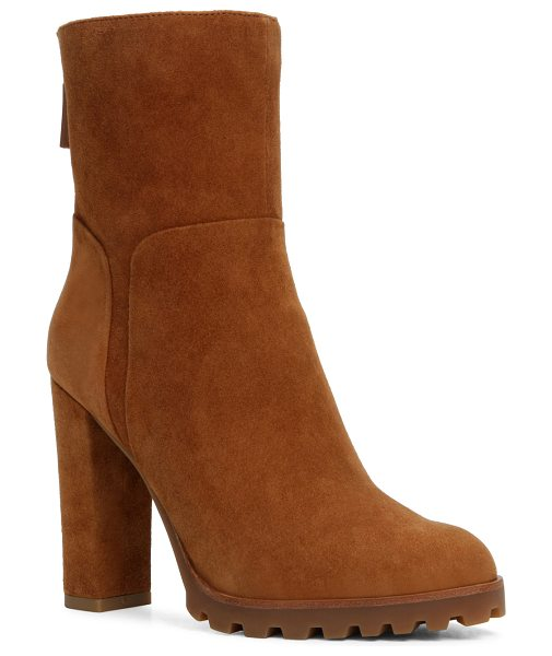 ALDO Fresa in light brown - The block heel, the slim ankle, the lug sole: this...