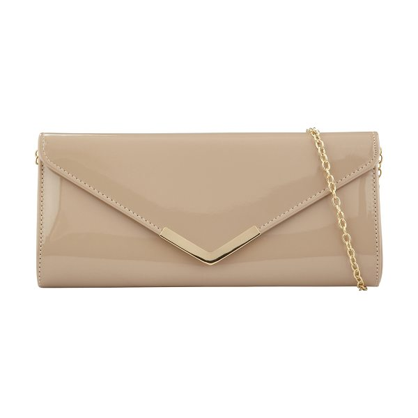 ALDO Gallington clutch in bone - Get the perfect evening or party look with this gorgeous...