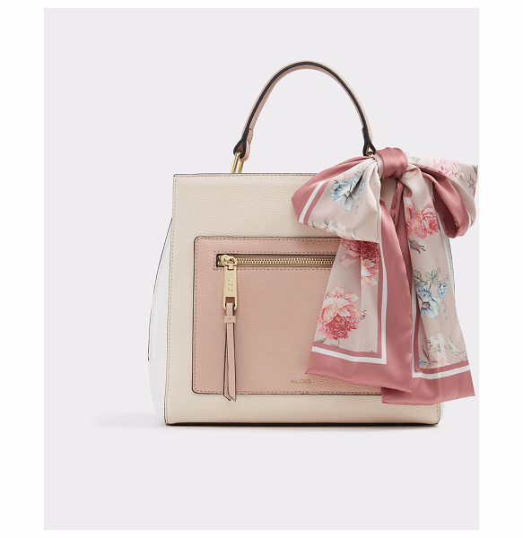 ALDO Glalidda in light pink - Our signature scarf tote is classic with strong lines...