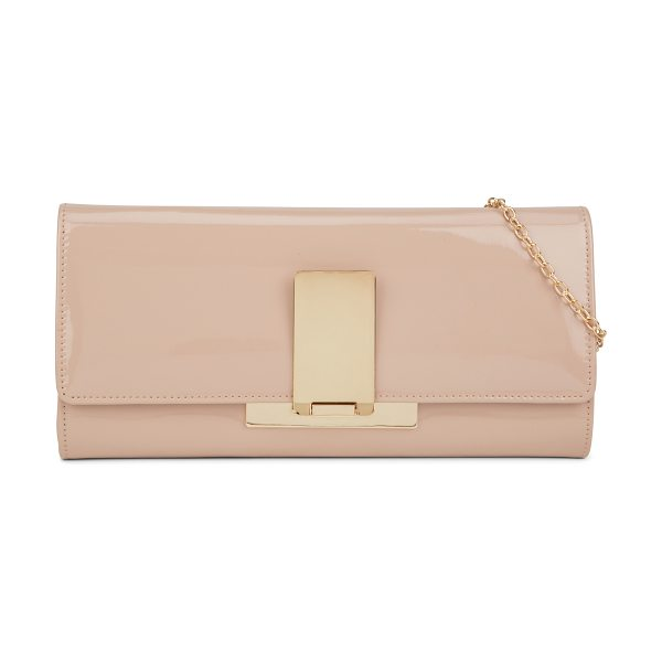 ALDO Guriamo in bone - Sleek, slim and sexy, this clutch is the perfect evening...
