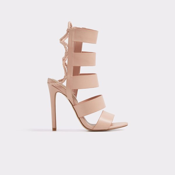 ALDO Hawaii in light pink - Sizzle and stun in this statement caged-heel sandal....