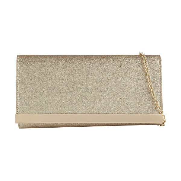 ALDO Husul clutch in metallic - Secure your nighttime essentials in this sophisticated...