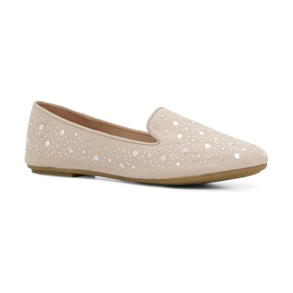 ALDO Hyven in bone - These lovely ballerinas are embellished with small...