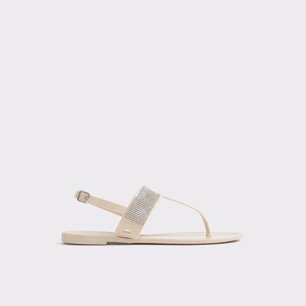 ALDO Imperialbeach in bone - Sparkle in the sand (or sidewalk) with this slingback...