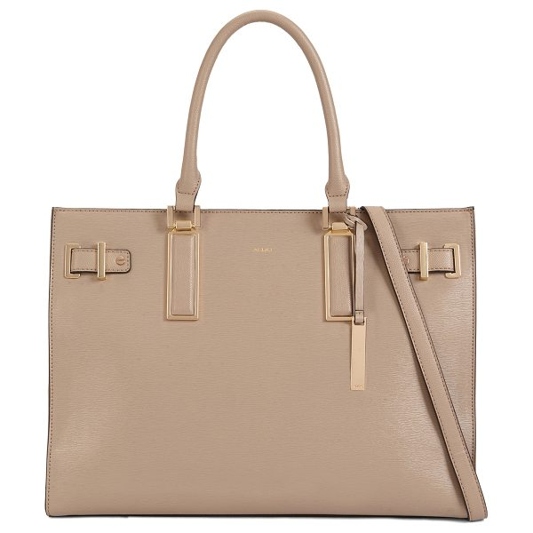 ALDO Izabelle in taupe - Complement your everyday look with this lightweight easy...