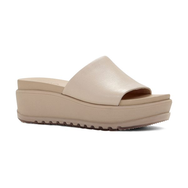 ALDO Jasmyne sandals in pink/purple - Slide sandal. - Flatform. - Round toe. - Open toe. -...