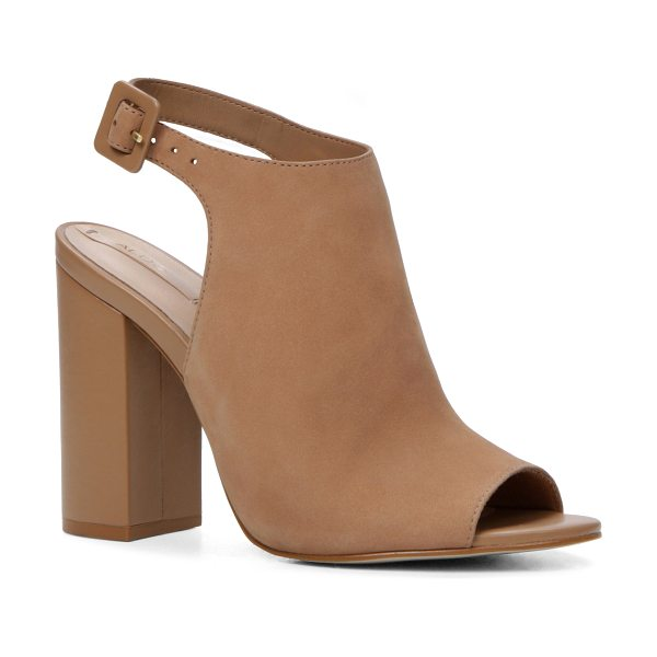 ALDO Juliusa in natural - Elevate your sandal game. This cutout pair knows that...