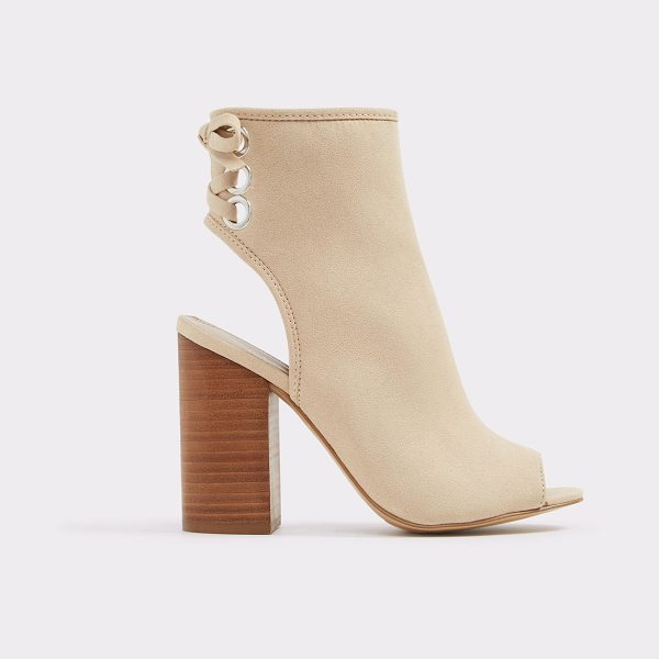 ALDO Justina in bone - The sling back peep toe sandal is all the rage, but ours...