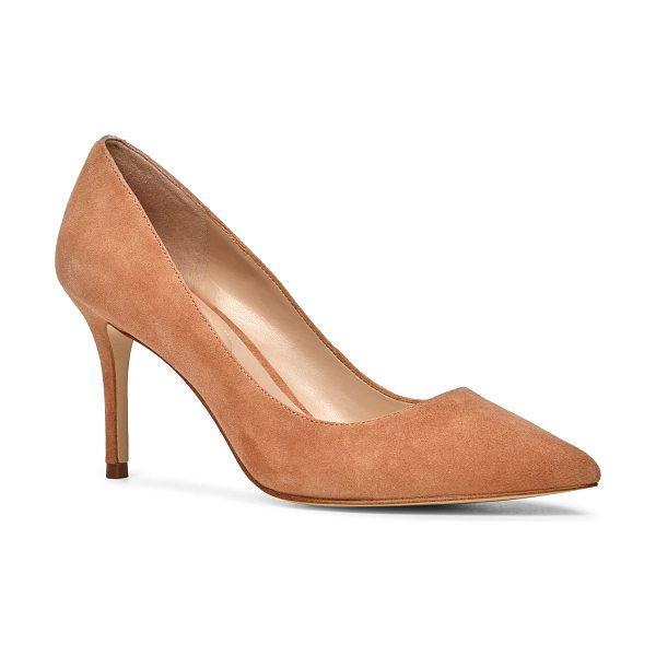 ALDO Kediredda in light brown - A timeless pump set on a stiletto heel. File yours under...
