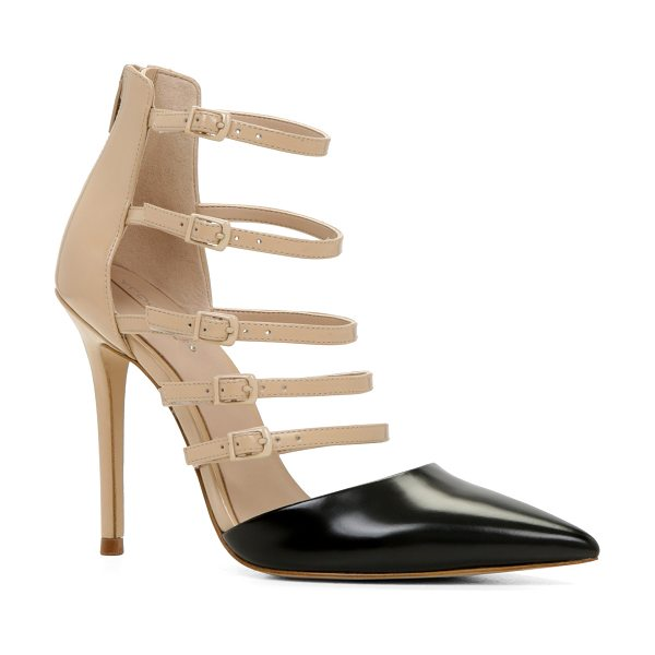 ALDO Kieu pumps in bone - Stay a step ahead with these fabulous multi-strap...