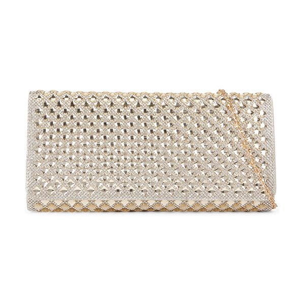 ALDO Kolp in gold - This jaw-dropping rhinestone-adorned evening clutch will...