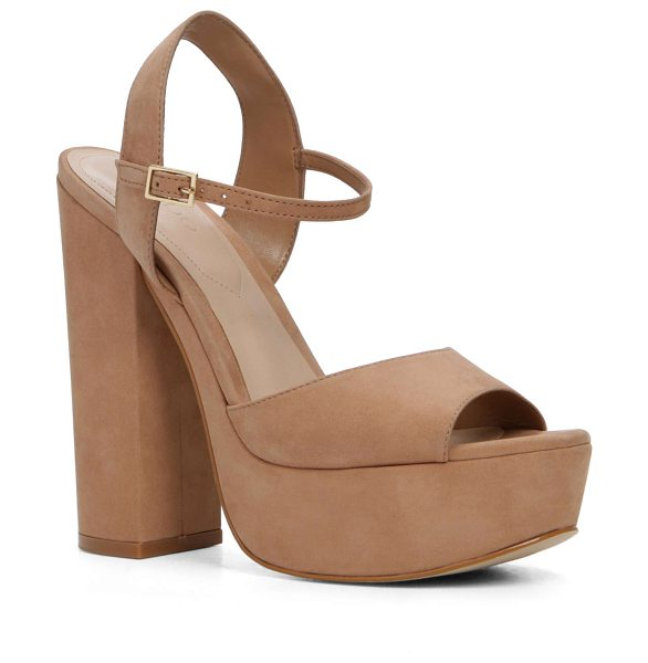 ALDO Kostas in natural - Channel your inner disco queen with a sky-high pair that...