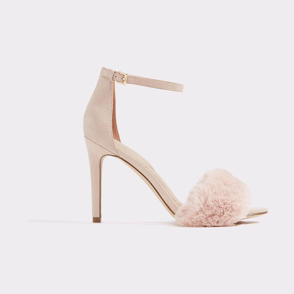 ALDO Lalisa in light pink - Fabulous, feminine and stunning all at once, faux fur...