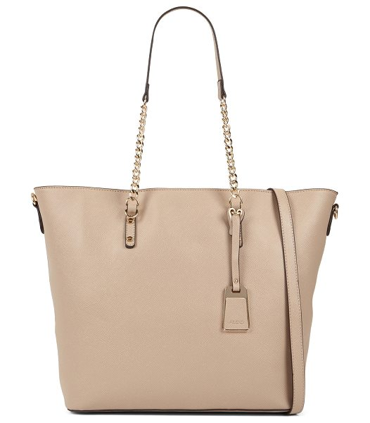 ALDO Land sandals in taupe - A structured tote featuring sturdy straps, this roomy...