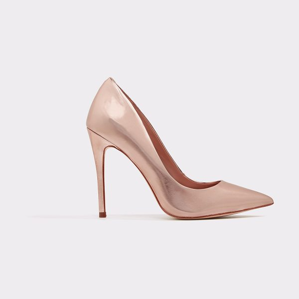 ALDO Laralilla in metallic - Think inner siren and slide into this sexy stiletto....