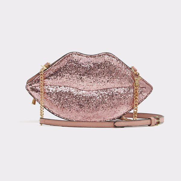 ALDO Laraviel in pink - A playful pucker-shaped crossbody achieves on-the-go...