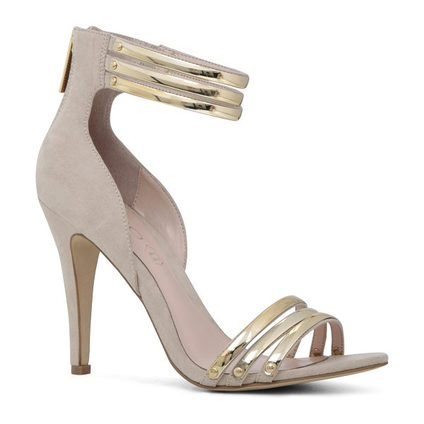 ALDO Leinan sandals in beige/taupe