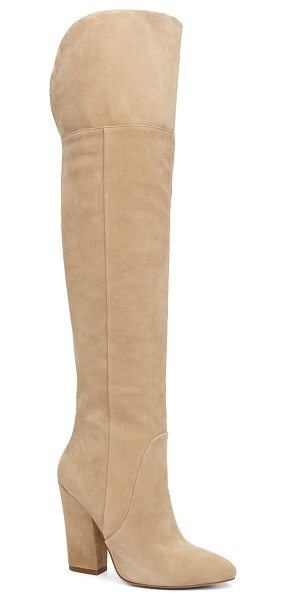 ALDO Leissa - Sumptuous suede and a cowgirl boot shape combine for a...