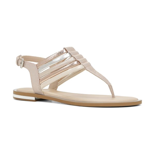 ALDO Loveday in bone - Get strappy with these cool-looking T-strap sandals...