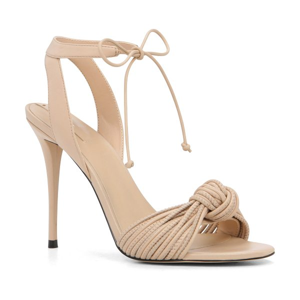 ALDO Lyvie in bone - So hot on our heels: A tied-knot motif updates the...