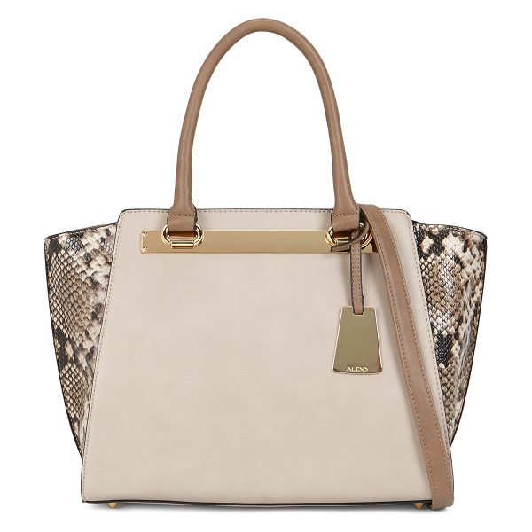 ALDO Macnutt shoulder bag - This beautiful two-tone tote will work amazingly well...