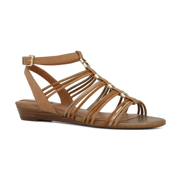 ALDO Mazie in cognac - A covetable addition to your warm-weather wardrobe-a...