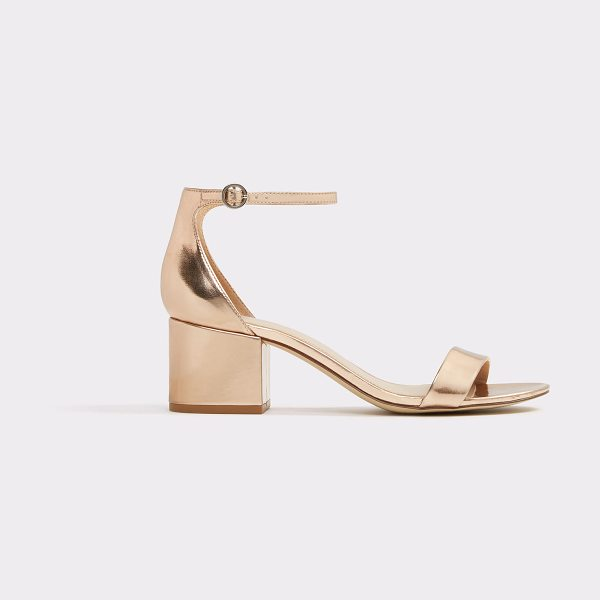 ALDO Mellisa in metallic - Channel modern sophistication with ease in this...