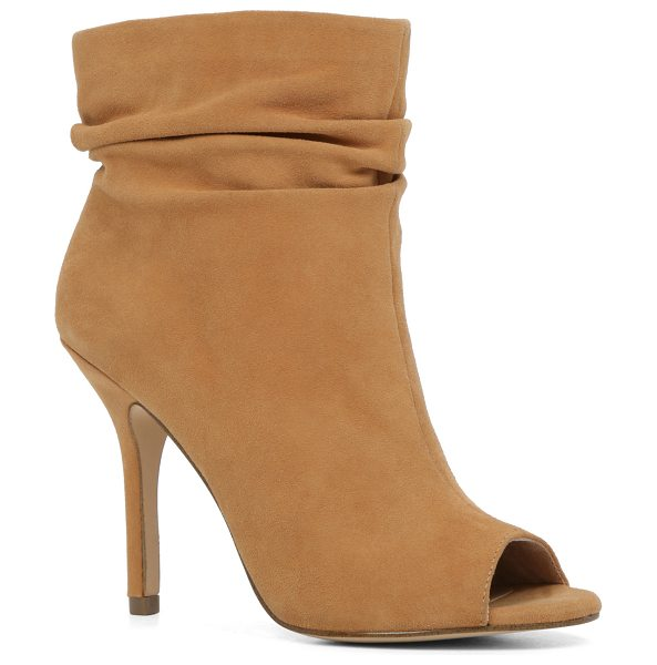 ALDO Merkin in cognac - A slouchy bootie with a spikey heel plays the flirt with...