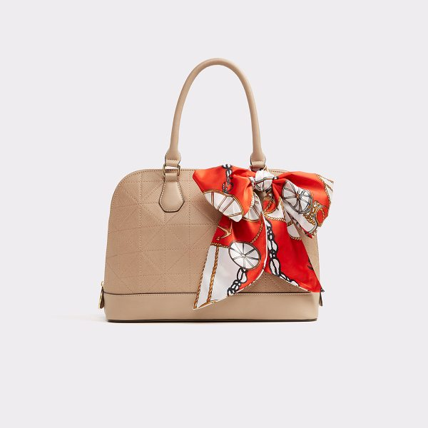 ALDO Minitonas in natural - This refined top-handle bag with a paneled bag, will add...
