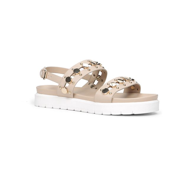 ALDO Mirani sandals in bone - Make these comfortable sandals a staple piece in your...