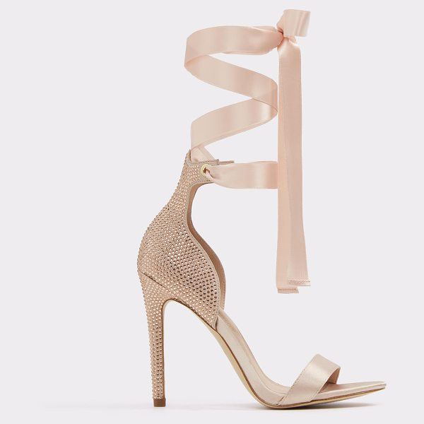 ALDO Mirilian in light pink - Unabashed femininity. Standout style. This high-heel...