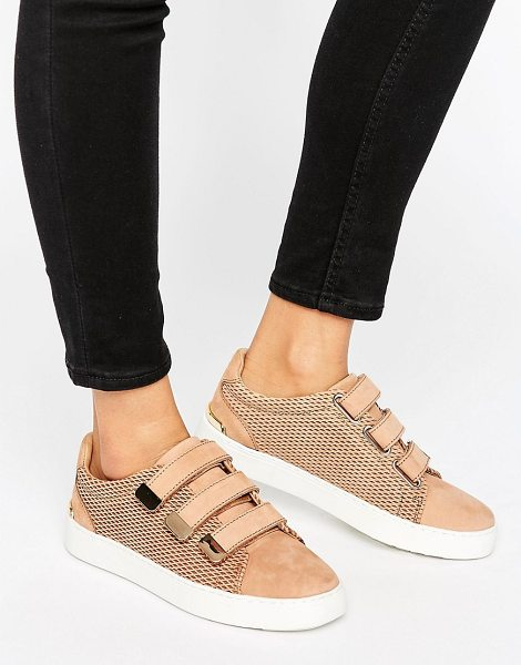 ALDO Multi Strap Sneakers in tan