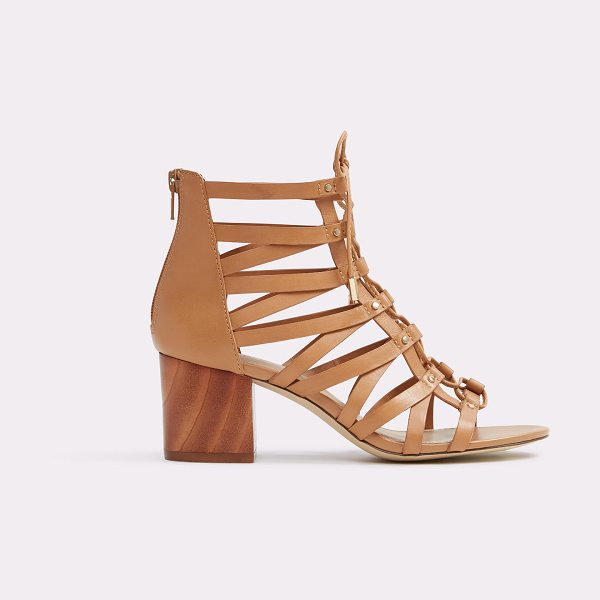 ALDO Myssi in camel - In rich, smooth leather with gladiator-style laces...