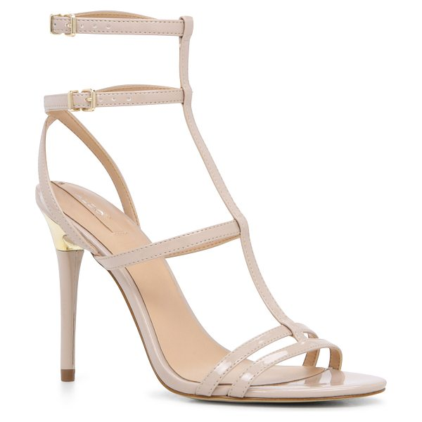 ALDO Neassa in bone - A t-strap sandal doubles its fun with 2x's the ankle...