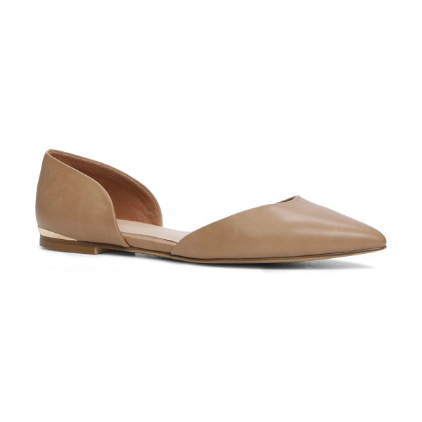 ALDO Neroli in cognac - A classy take on the basic ballet flat. This is what you...