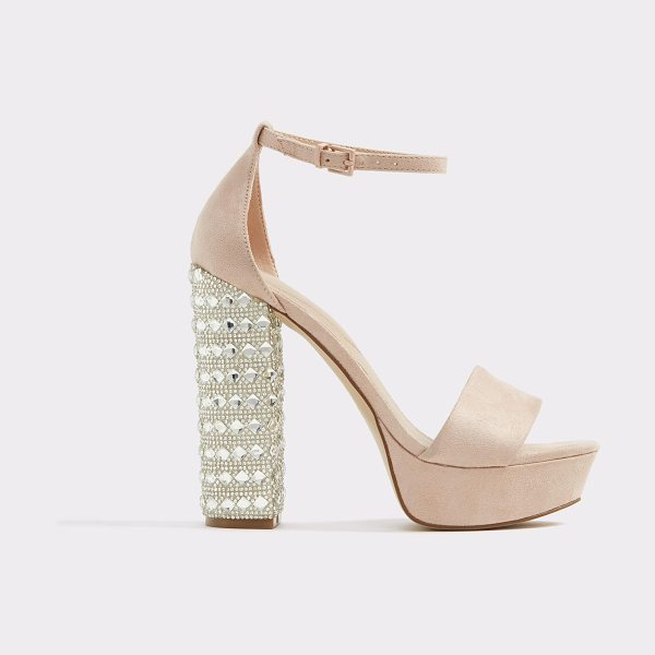 ALDO Nesida in pink - A showstopping platform sandal shines and dazzles in...