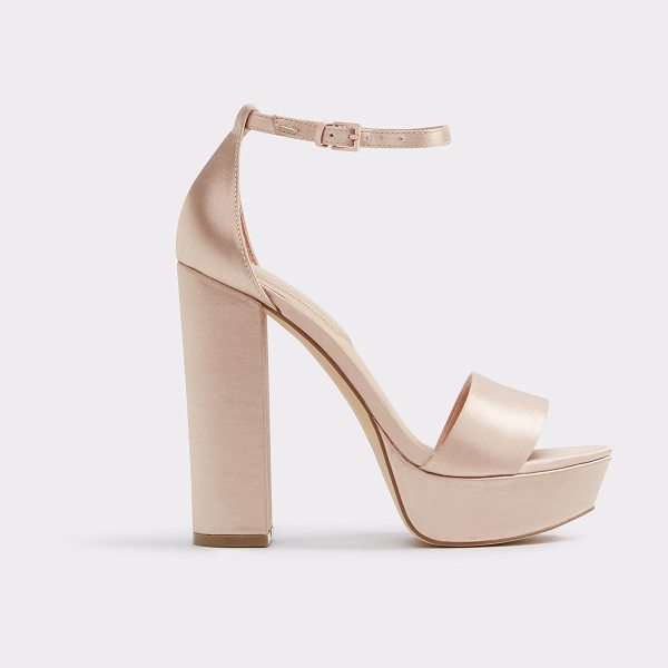 ALDO Nesida in light pink - A showstopping platform sandal shines and dazzles in...