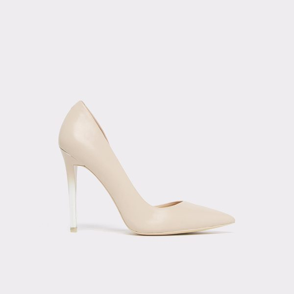 ALDO Nuage in bone - Effortless elegance of a classic d'Orsay pump with an...