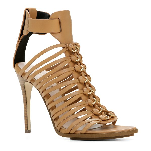 ALDO Ocania sandals in cognac - Ankle strap. - Platform. - Pointy toe. - Open toe. -...