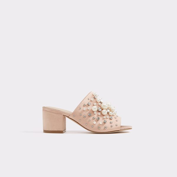 ALDO Pearls in light pink