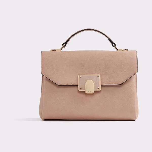 ALDO Pirewien in light pink - Poised and practical, this structured laptop bag is a...