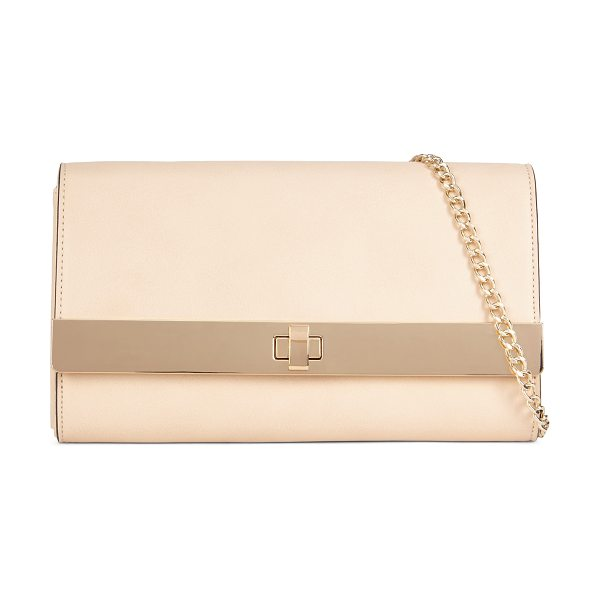 ALDO Pirjo clutch in bone - Add a simple dose of elegance to your day. With a...