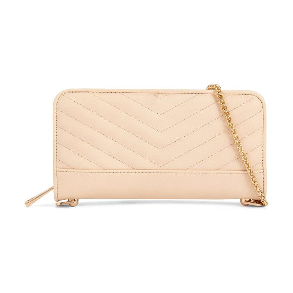 ALDO Plate in bone - A zipper contoured wallet turned clutch with the...