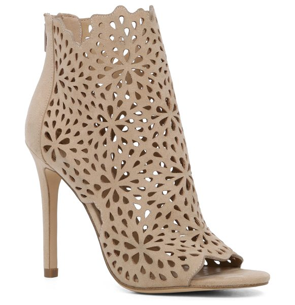ALDO Ralidien in bone - This absolutely stunning bootie features a floral...