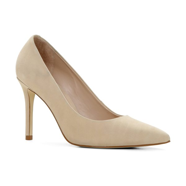 ALDO Riely pumps in beige/taupe - Your evening is sure to be a success if you opt for...