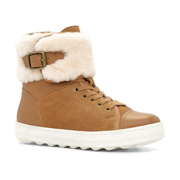 ALDO Rodway in cognac - Get ready for winter with this warm and on-trend...