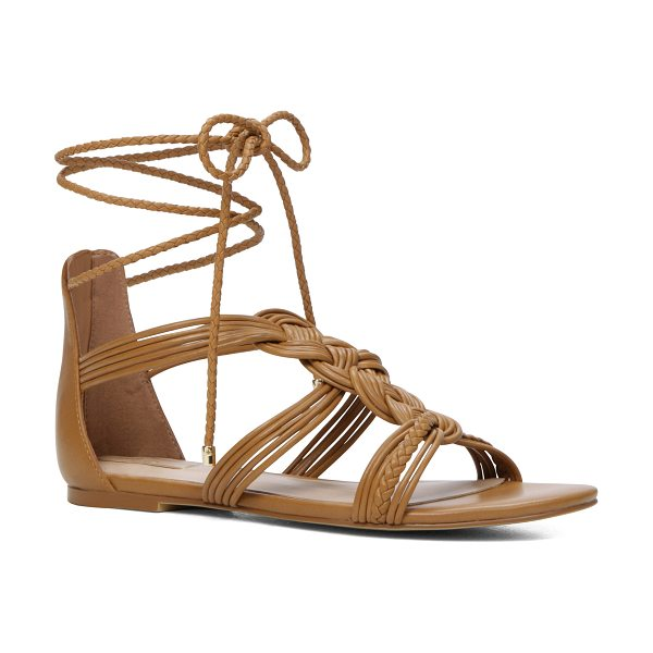 ALDO Rosania in light brown - Tie down the spirit of summer a flirty lace-up sandals....