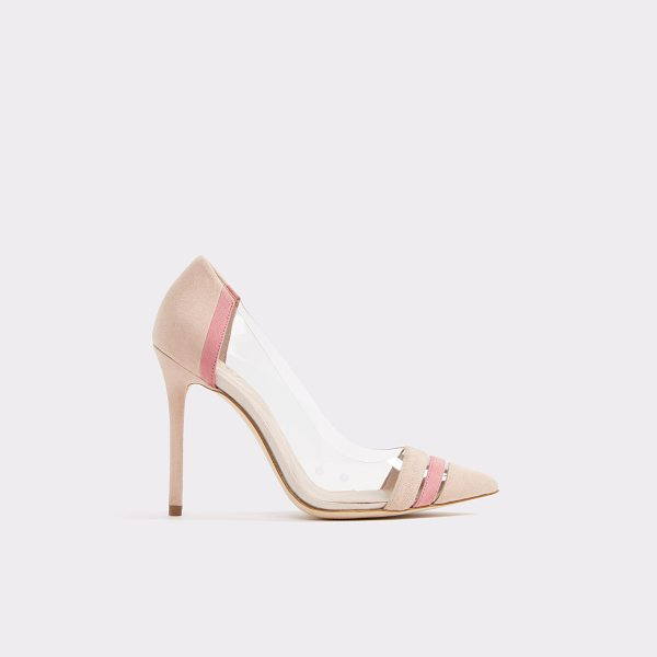ALDO Santorini in light pink - Style you can see through: this trend-forward (and sexy)...