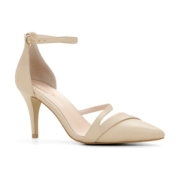 ALDO Seaven in bone - This ankle-strap pump is a perfect choice for...